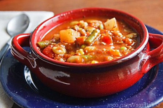 Succotash is a delicious dish made with whole food ingredients