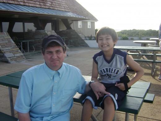 Matty and me