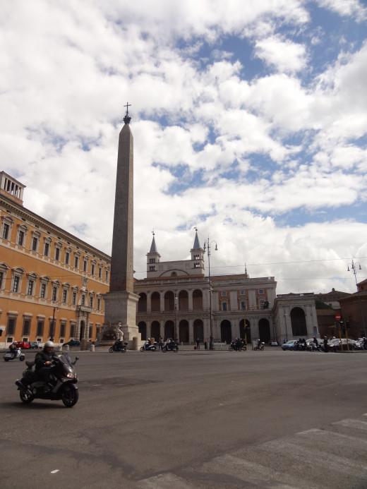 That's a big Obelisk.