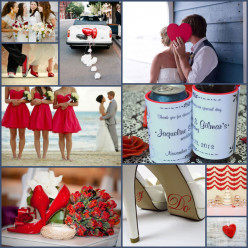 Wedding Color Combinations and Ideas for your Wedding Favor Koozies