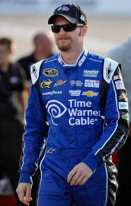 Earnhardt took criticism for some because he admitted he had a problem and got out of the car last year