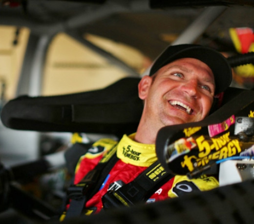 Bowyer hasn't had a lot to smile about lately but he's the defending race winner at Charlotte