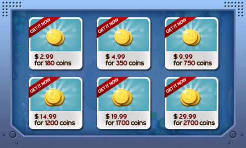 Rovio's Coins
