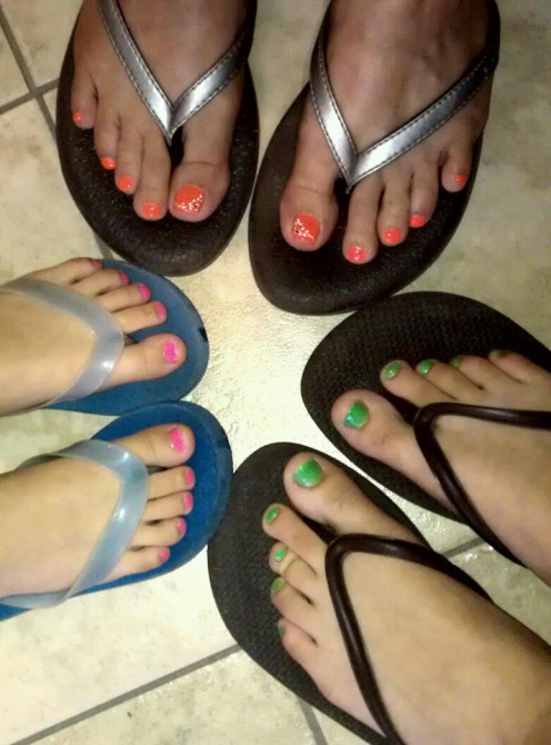 Pedi Feet!