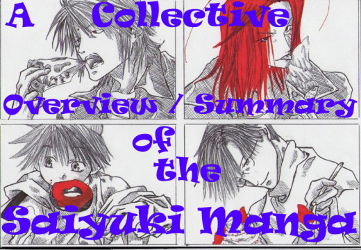 A Collective Summary and / or Overview of the Saiyuki Manga