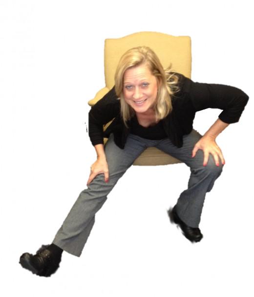"The ""Russian Dancer""  bladder emptying technique"