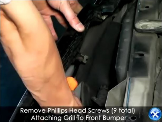 Remove 9 Screws with Phillips Screwdriver