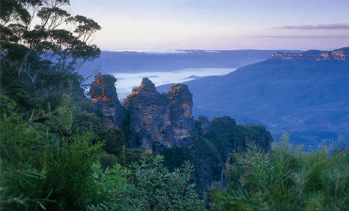 The Blue Mountains are absolutely stunning, and once you find out where they are, you should visit them for yourself.