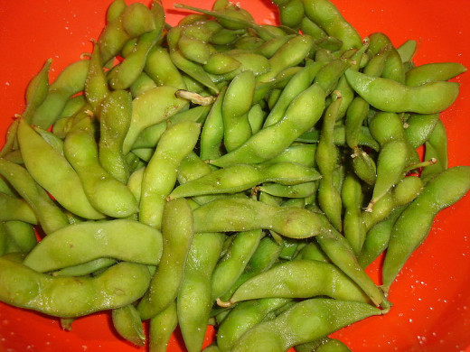 Soy beans are one of the richest sources of all 9 essential amino acids and have high protein levels per unit weight.
