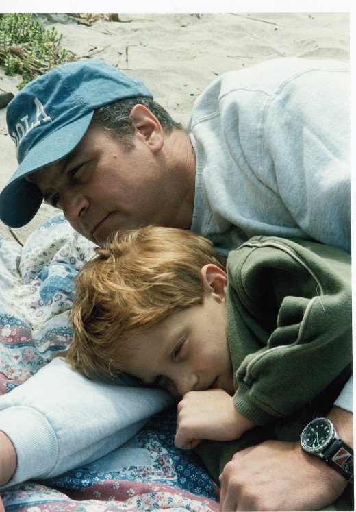 My son and I - 1997