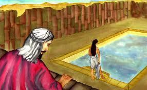 David peeping at Bathsheba