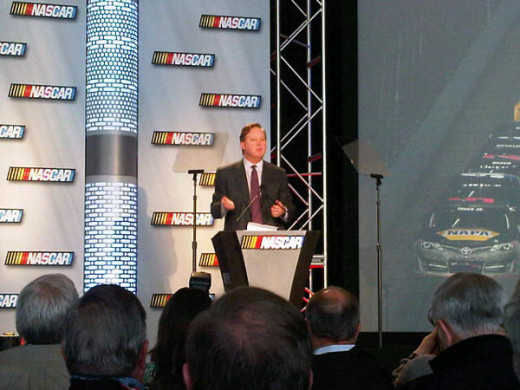 NASCAR head Brian France has shown a willingness to do whatever he feels is necessary to protect the sport's image