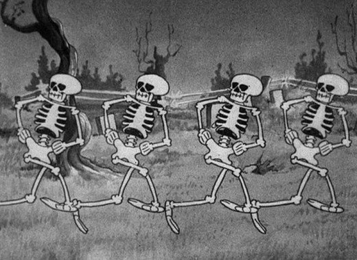 The Skeleton Dance from A Silly Symphony
