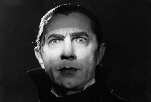 Bram Stoker's Dracula portrayed by actor Bela Lugosi in the 1931 film.