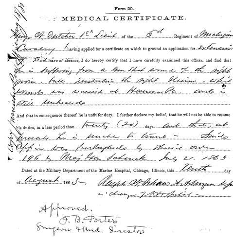 An example of a Medical Certificate