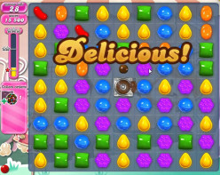 "Have you found yourself hooked on playing the video game ""Candy Crush""?"