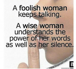 A good listener knows when to talk and when to be quite and allow the other person to talk.