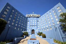 Scientology and Dianetics center.