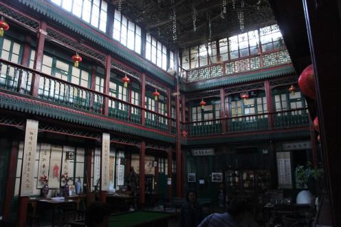 Emperor's Guesthouse - Interior Courtyard