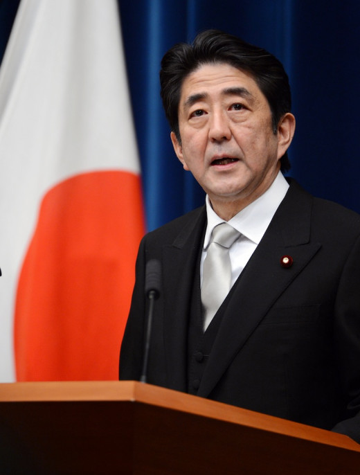 The Japanese Prime Minister Shinzo Abe has been criticised for not acting fast enough when it comes to the country's population problems.