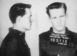 Woody Harrelson's father picture when he was convicted