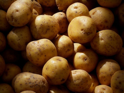 Potatoes are a good choice to buy organically, especially to eat them with skins on.