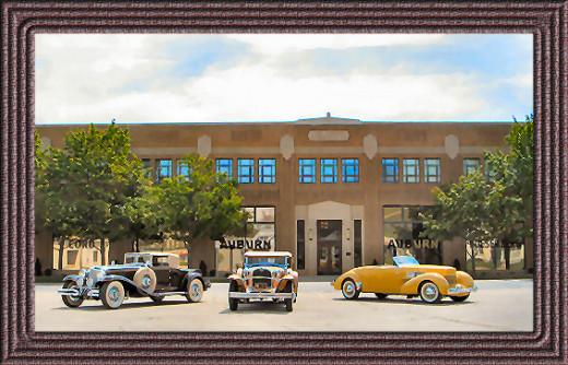 The Auburn Cord Duesenberg Museum in Auburn Indiana
