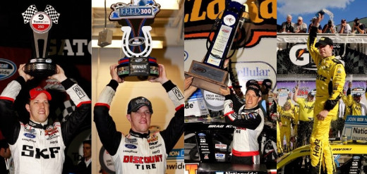 Despite several Nationwide wins this year, Keselowski had yet to break through at the Cup level before Saturday night