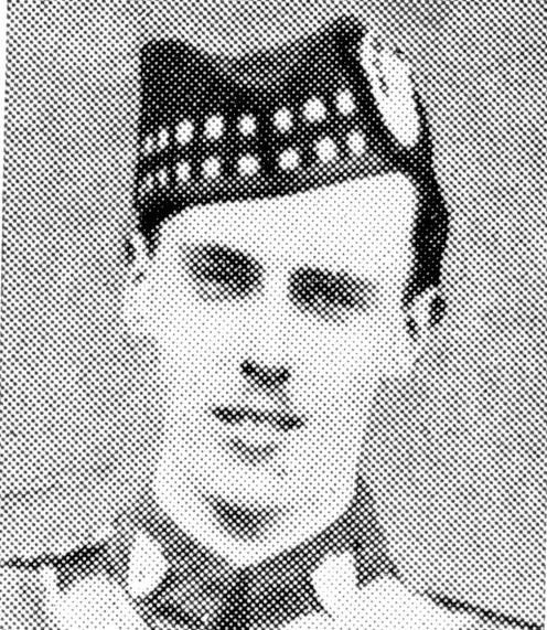 Lieutenant William Alastair Fraser Sandeman