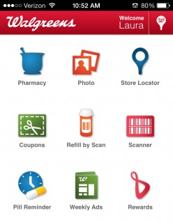 Review of the Walgreens Mobile App