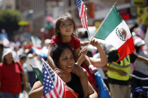 More Mexicans are now entering the US both legally and illegally.