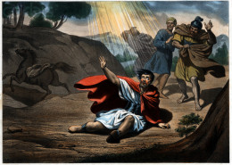 My story of how I met Jesus was much like Paul on the Road to Damascus.