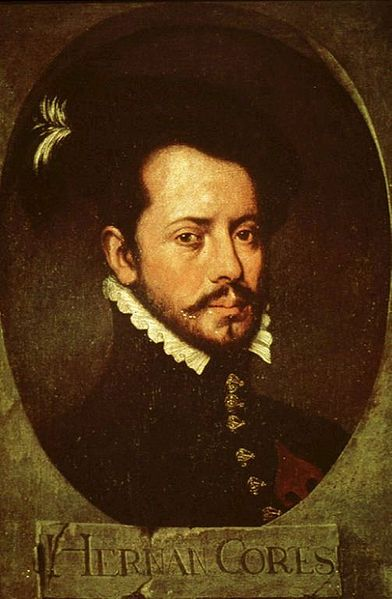 Hernán Cortés, the Spanish conquistador widely credited for the introduction of chocolate to Europe