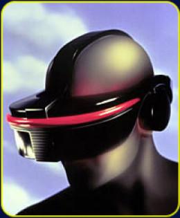 Sega VR artist rendering / ad image, circa 1991