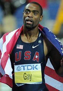 Tyson Gay, USA