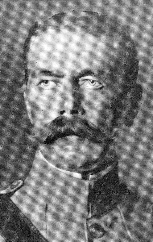 Earl Kitchener of Khartoum, G.C.I.E., G.C.S.I., G.C.B., British Secretary of State for War.