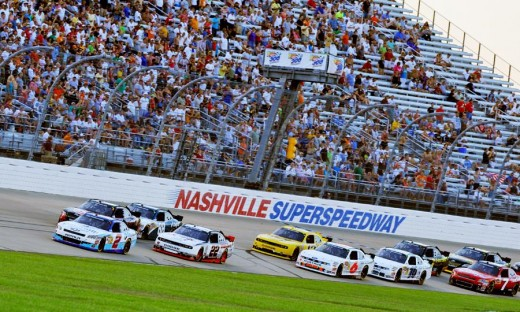 The Nashville Superspeedway never got the chance to host a Sprint Cup event.