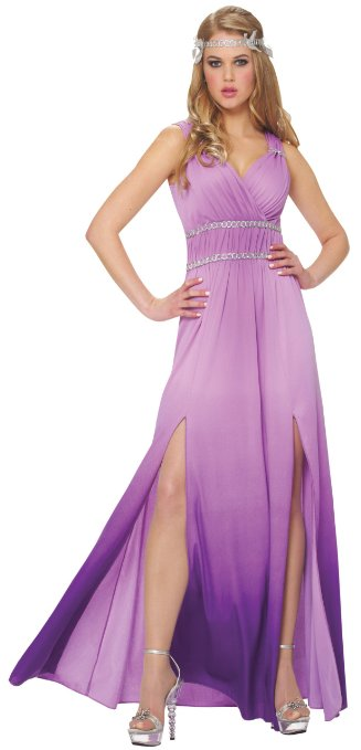 Womens Lilac Goddess Greek Costume