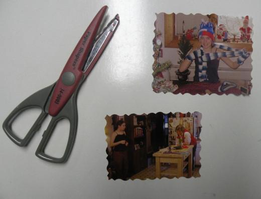 Photos cut with Scissors