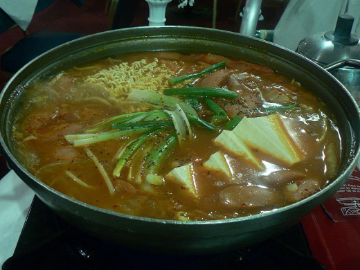 There are many delightful Korean vegetables stews to try.