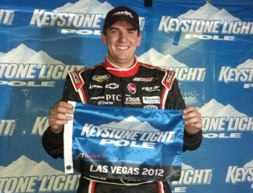 Joey Coulter is running full time on the Truck series for Kyle Busch Motorsports, a satellite Toyota team
