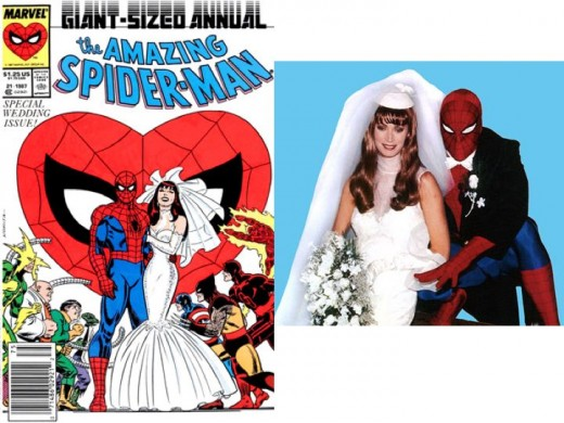 Amazing Spider-Man Annual #21Cover Cosplay