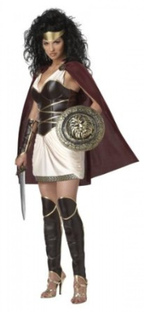 Want to be a warrior princess or queen for Halloween? Try this California Costumes Warrior Queen Set