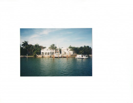 celebrity mansions in Miami