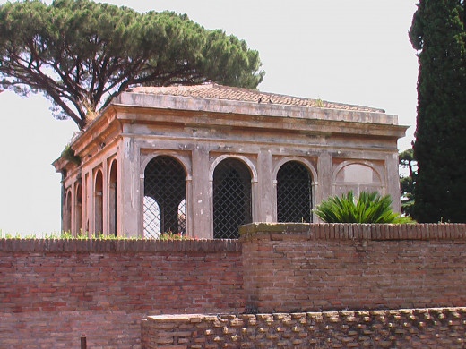 Gardens on the Palatine Hill, Rome