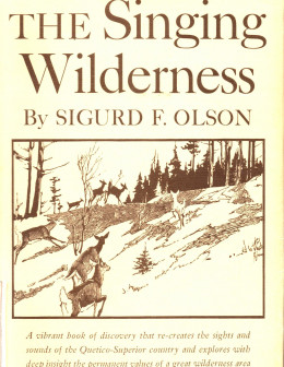 Book jacket of Sigurd Olson