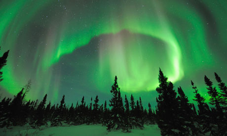 Northern Lights over North Woods