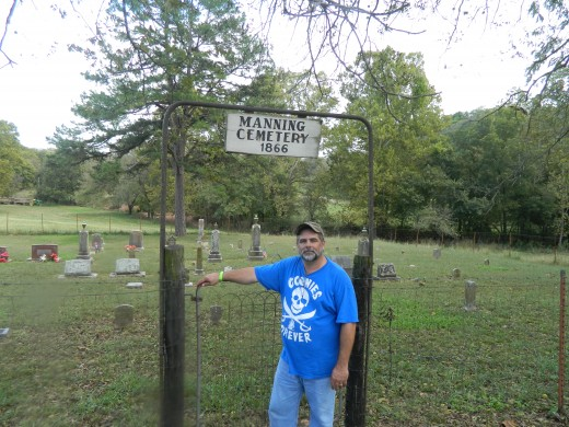 Manning Cemetery established 1866