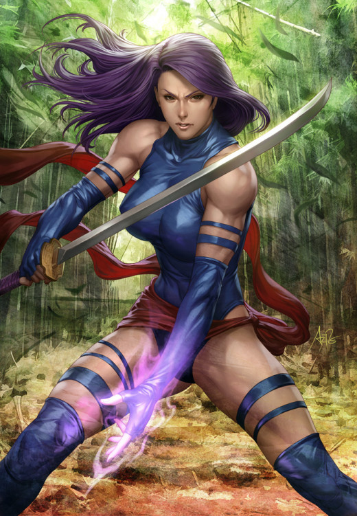 Psylocke needs series just to explain some things.
