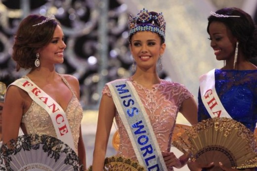 Miss Megan Young finally won the elusive Miss World crown for the Philippines, 2013 (Bali, Indonesia)